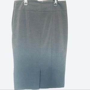H&M | Pencil Skirt in Charcoal Gray